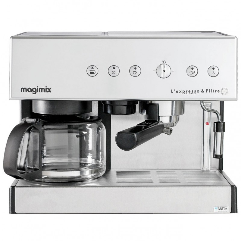 espresso magimix 11423 handset with coffeemaker. Black Bedroom Furniture Sets. Home Design Ideas