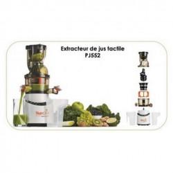 Entsafter SIMÉO PJ552 Touch mit Presse für Obst und Gemüse