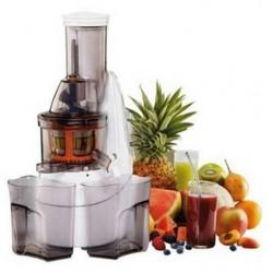 Nutrijus 2 SIMÉO PJ555 vorbereitet, der Saft der Früchte und frisches Gemüse