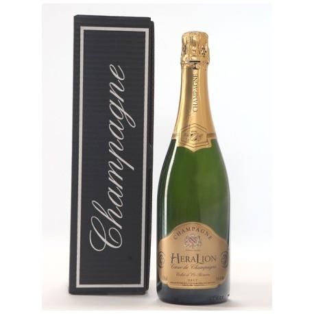 ゴールドの輝きを HeraLion リザーブ ブリュット シャンパン