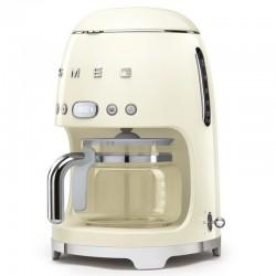 Smeg programmierbare Kaffeemaschine Jahr 50 Chromé Creme