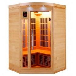 Infrared Sauna Apollon Quartz 2 to 3 places France Sauna