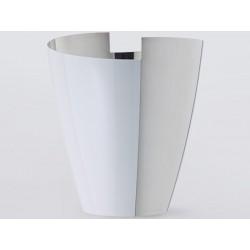 Cubo de la lata Poli blanco tan Versso OA1710 champagne