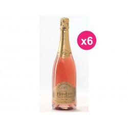 Champagne HeraLion deseo Brut rosado (caja de 6)