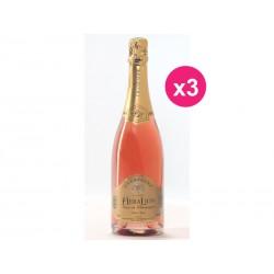 Champagne HeraLion deseo Brut rosado (caja de 3)